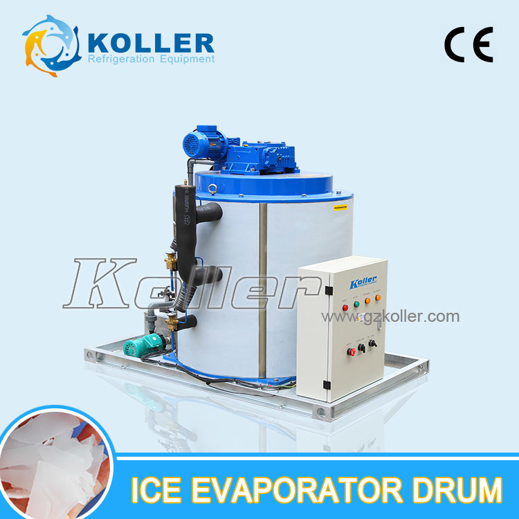 Flake Ice Machine Evaporator Drum Sold Alone with Electricity Box