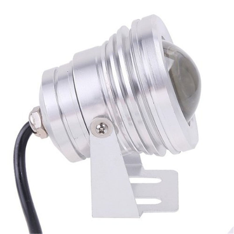 AC/DC 12V/24V 10W RGB Fountain LED Underwater Light for Landscape Lighting