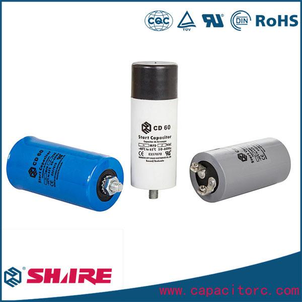 400UF 250VAC Aluminum Electrolytic Capacitor