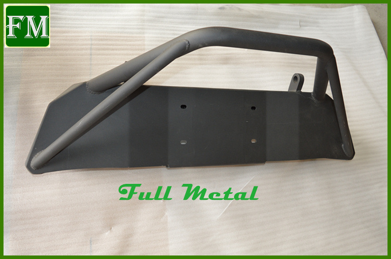 for Jeep Jk Wrangler Poisonous Spiders Front Bumper with Brawler Bar
