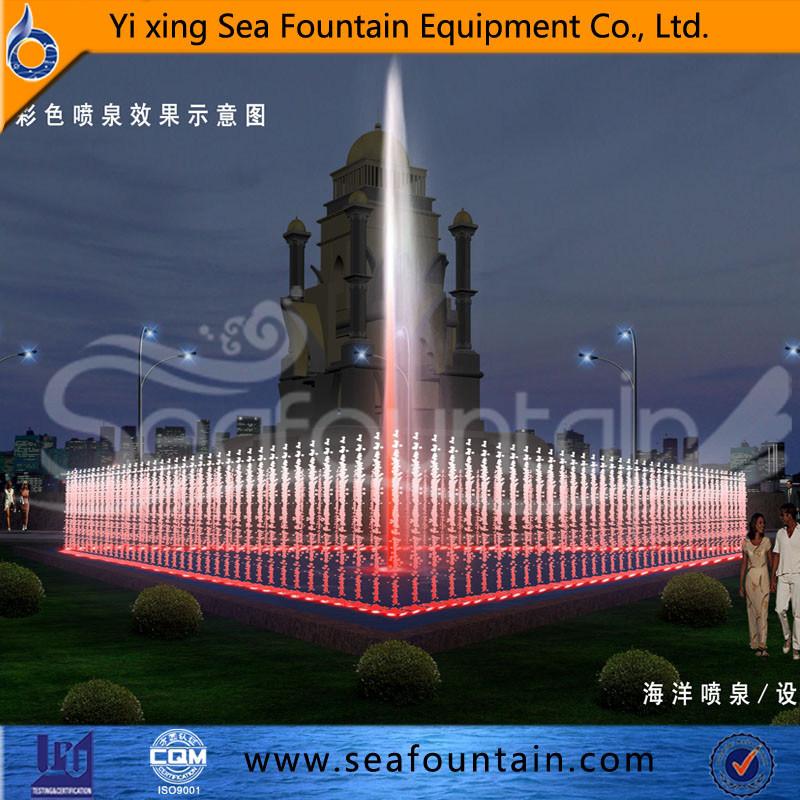 Seafountain Design Program Control Fountain European Style