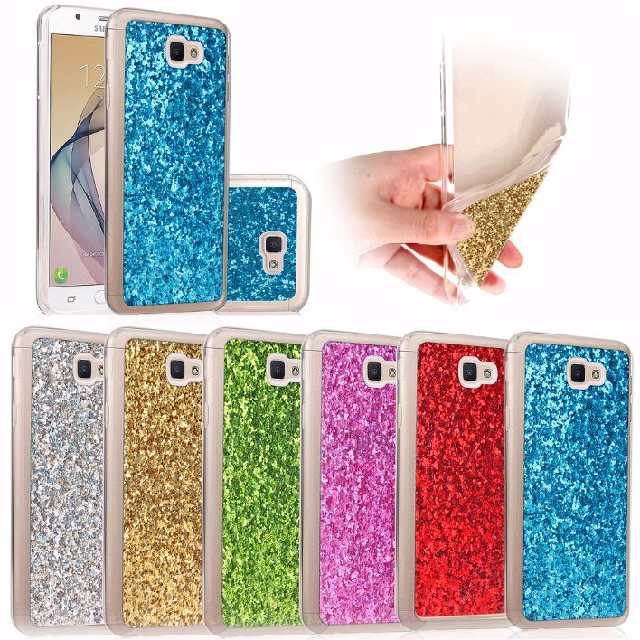 Shining Glitter TPU Back Case for Samsung Galaxy J5 Prime