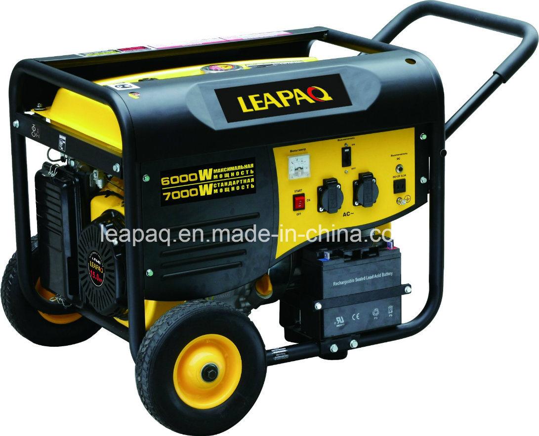 6.0kw Wheels & Handle P-Type Portable Gasoline Generator