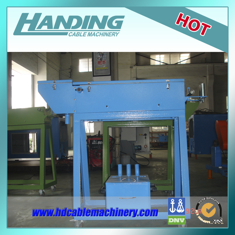 Talc Applicator for Wire and Cable Manufacture