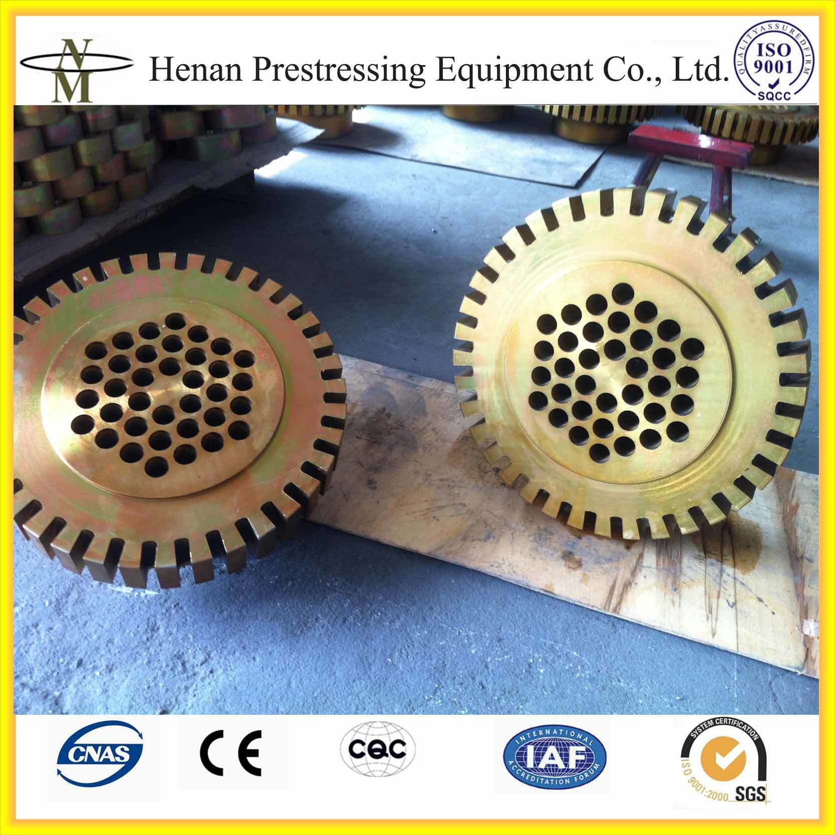 Pre-Tensioning Prestressed Concrete Reinforcing Steel Coupler