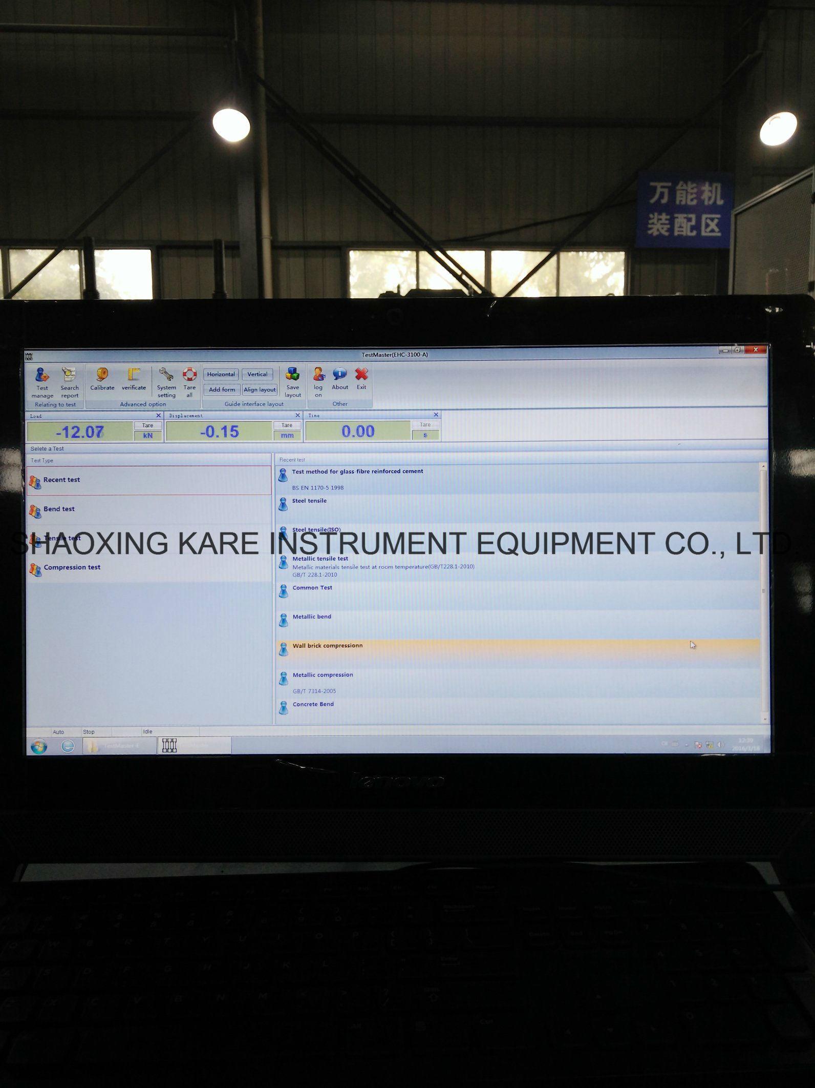 Computer Display Universal Testing Machine (WEW-600B)