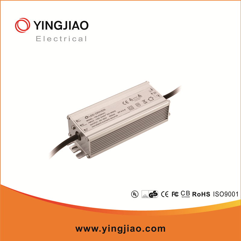 40W Waterproof LED Power Supply with Ce UL FCC
