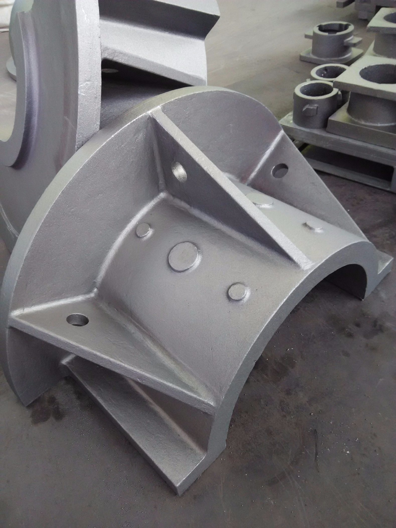 OEM Sand Casting Parts for Construction Machine