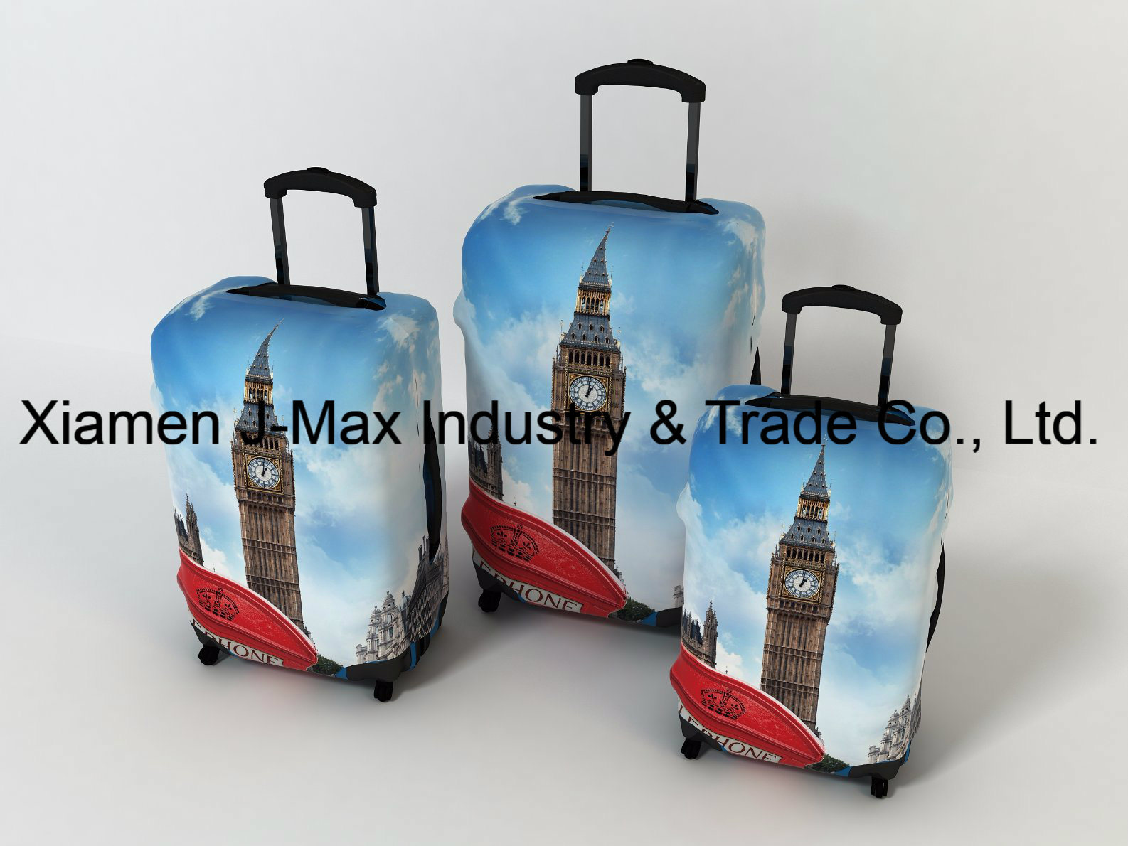 Spandex Travel Luggage Cover Fits 18-32 Inch Luggage, High Elastic, Washable, Comes in Various Printings, Trolley Cover, Germany