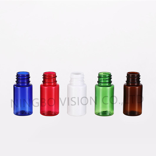 10ml Small Pet Plastic Bottle with 18-410 Closure