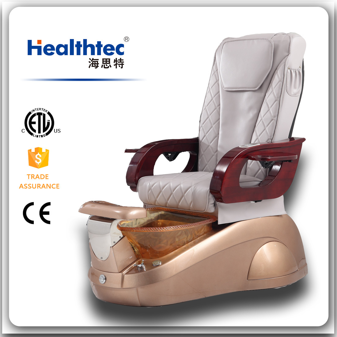 SPA Barber Chairs Fiberglass Chair (B801-018)