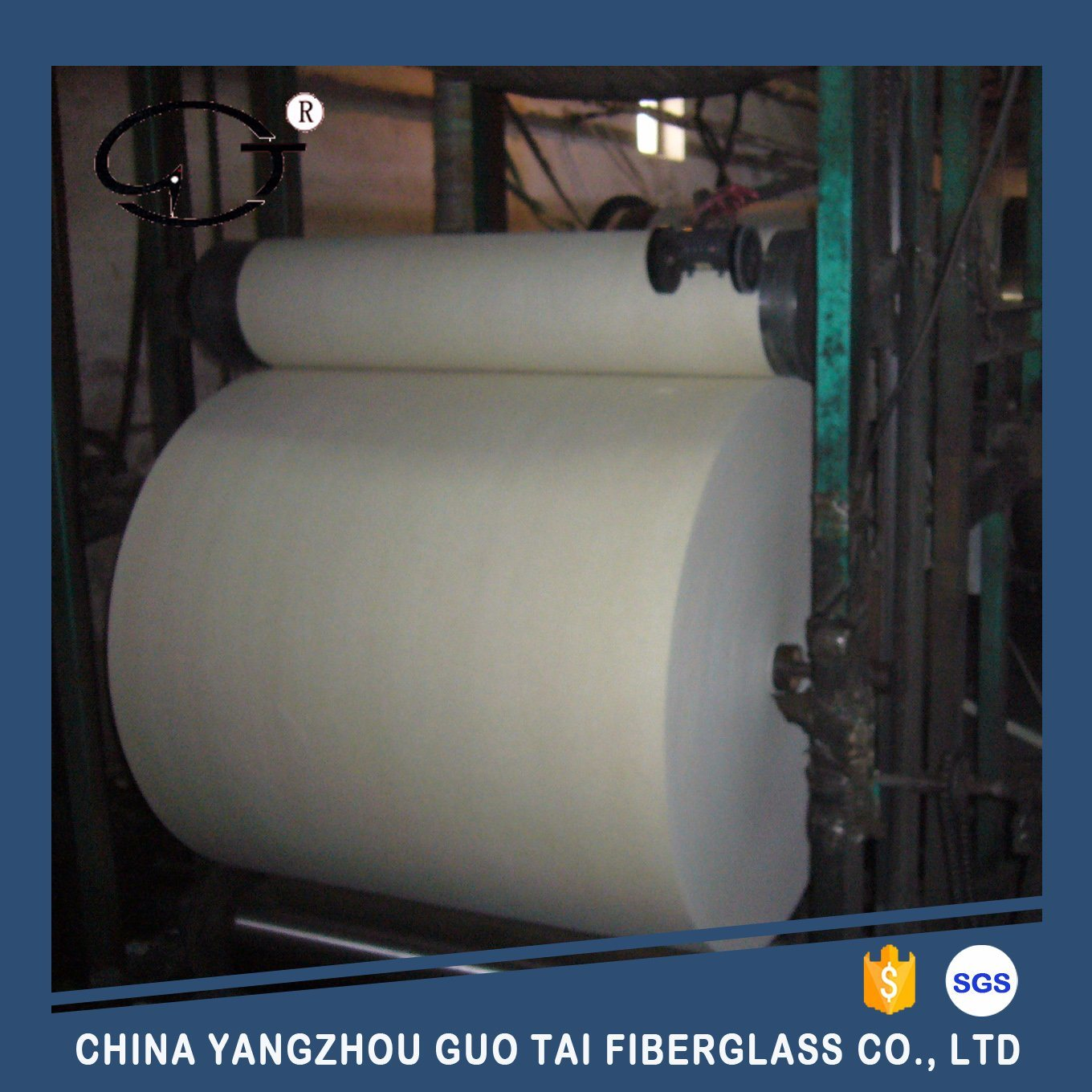 Fiberglass Roofing Tissue with Reinforced Yarn