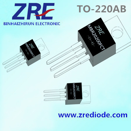 20A Mbr2020fct Thru Mbr20200fct Schottky Barrier Rectifier Diode to-220ab Package