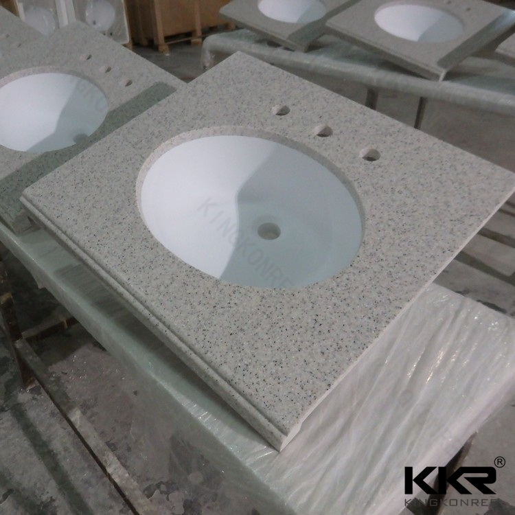 Customized Solid Surface Tesin Stone Kitchen Countertop