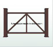 Eco -Friendly Anti-UV WPC Fencing & Railing (WPC fencing) K-Rl-01