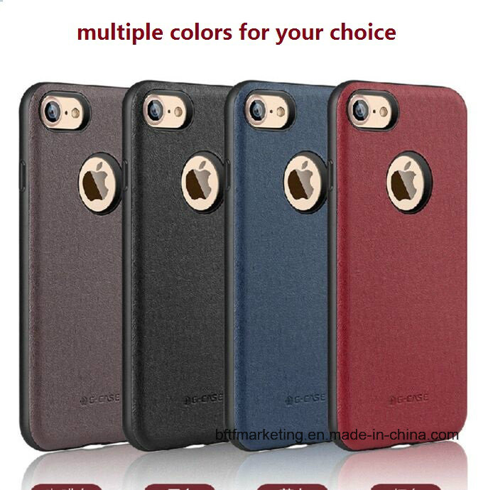 Luxury New Hot PU Leather Phone Case for iPhone 7 and 7 Plus