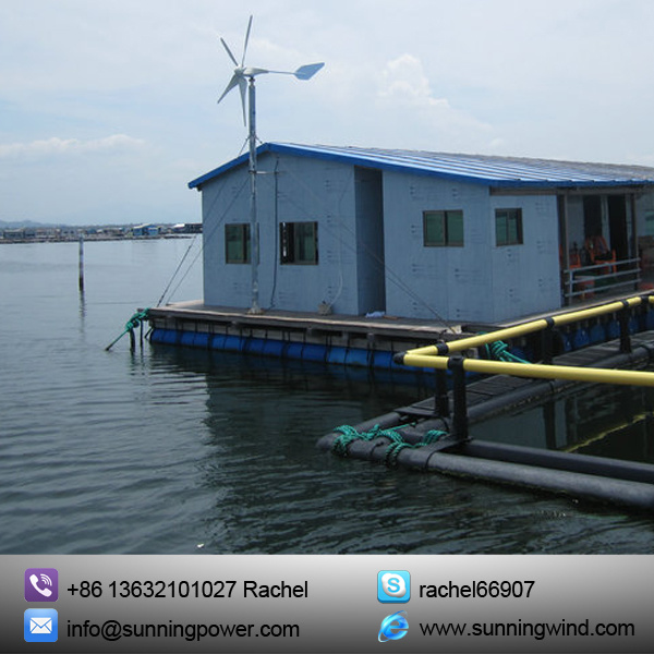 Marine Use Wind & Solar Hybird Power System Use Small Wind Power
