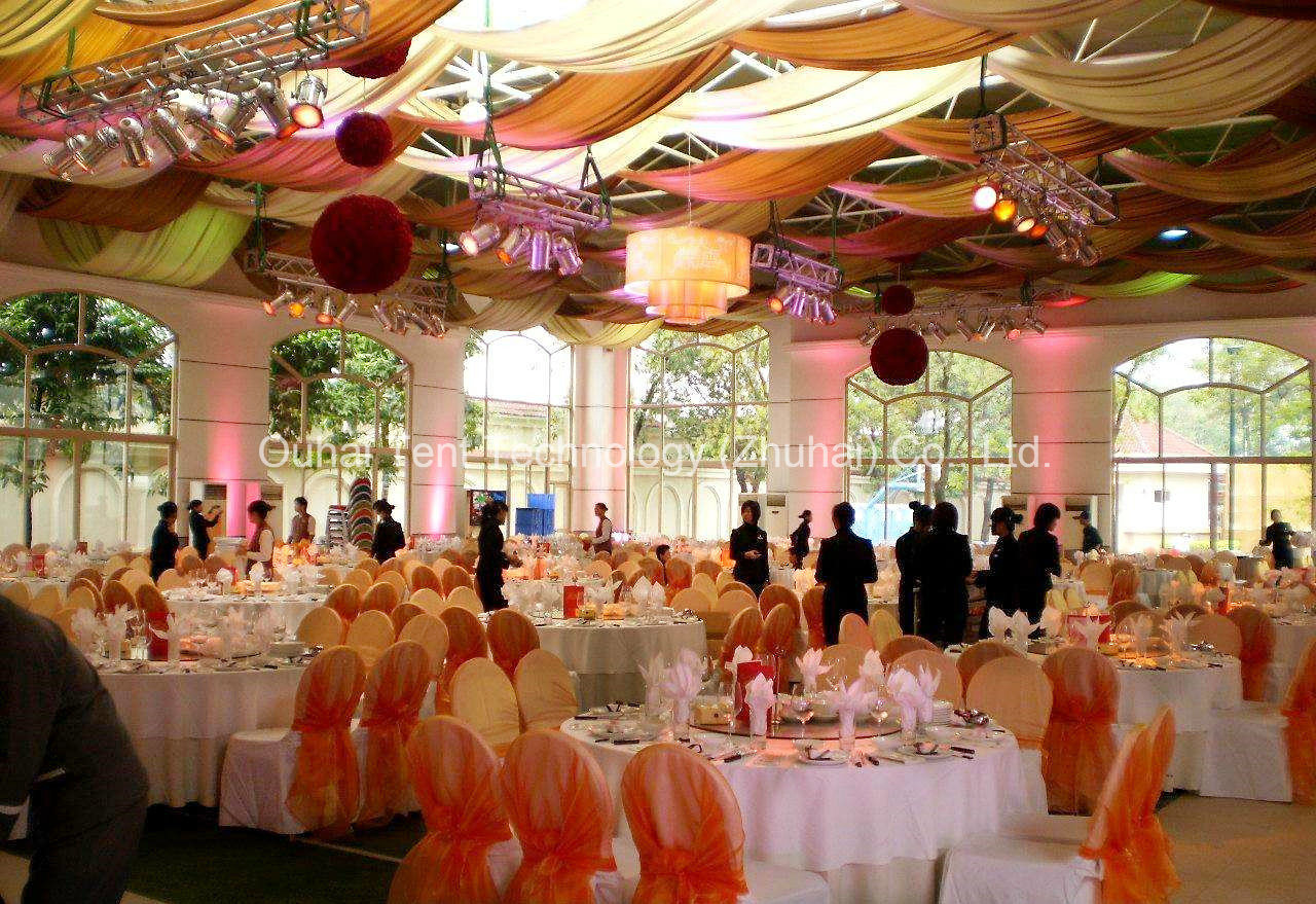 12m Clear Span Beautiful and Romantic Wedding Tent