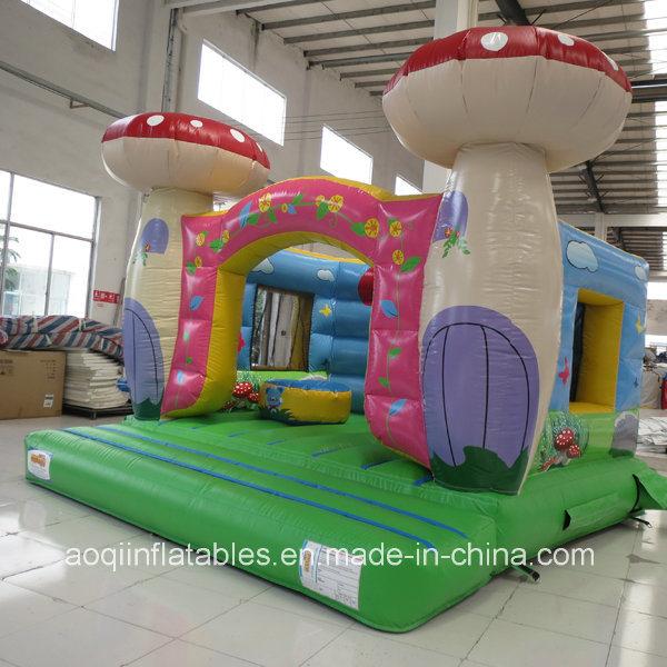 Pink Mushroom Room Jumper Bouncer for Kid (AQ02105-1)