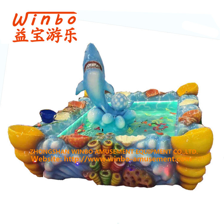 Interesting Amusement Fishing Pool for Children′s Playground (FP002-YW)