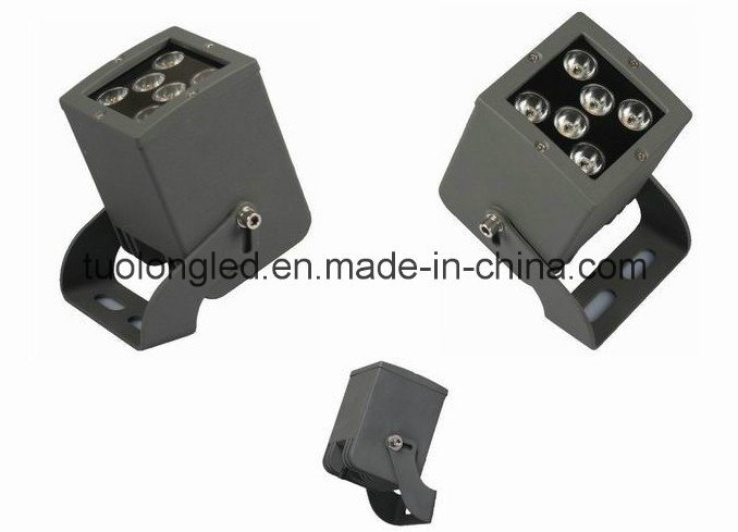 12W Square LED Shoot Light Tuolong Outdoor Building Lighting