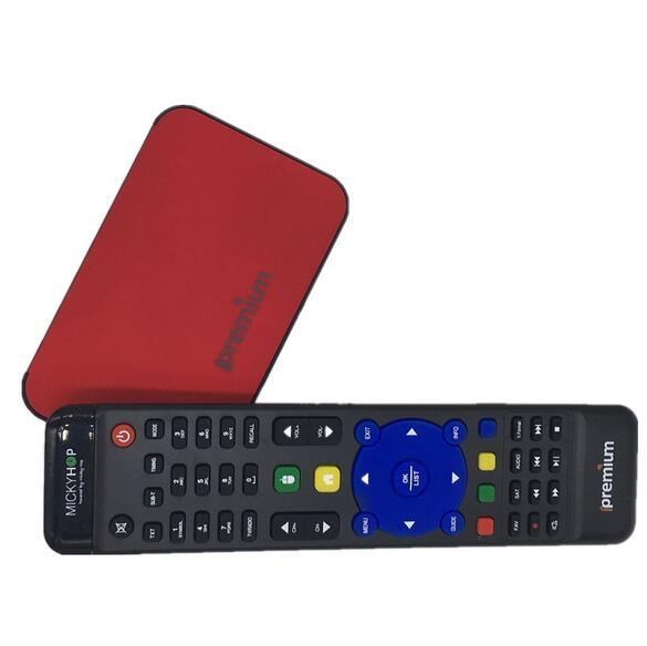 Ipremium Set Top Box with Stalker, Brazil IPTV Box 1g+8g