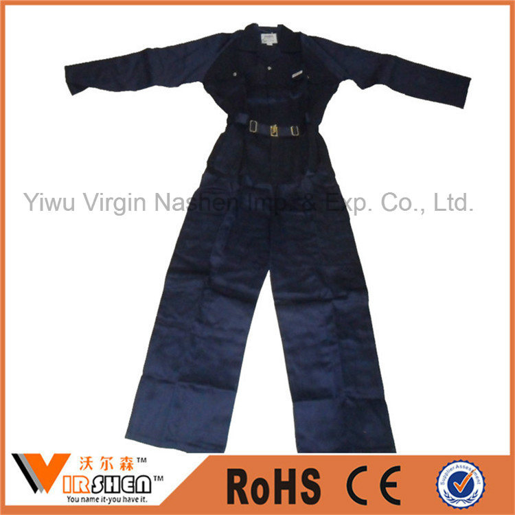 100% Cotton Mechanic Coveralls Custom Work Uniform Mens Womens Safety Coverall Workwear
