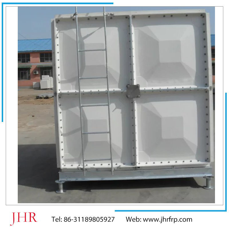 GRP FRP Fiberglass Sectional Assembling SMC Panel Water Storage Tank