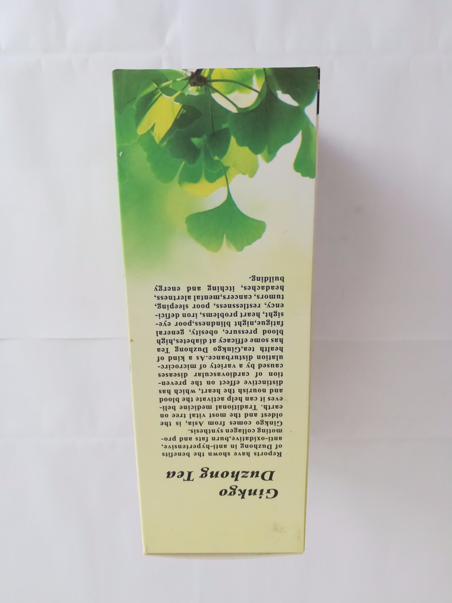 Duzhong Ginko Tea Balance Blood Pressure Tea