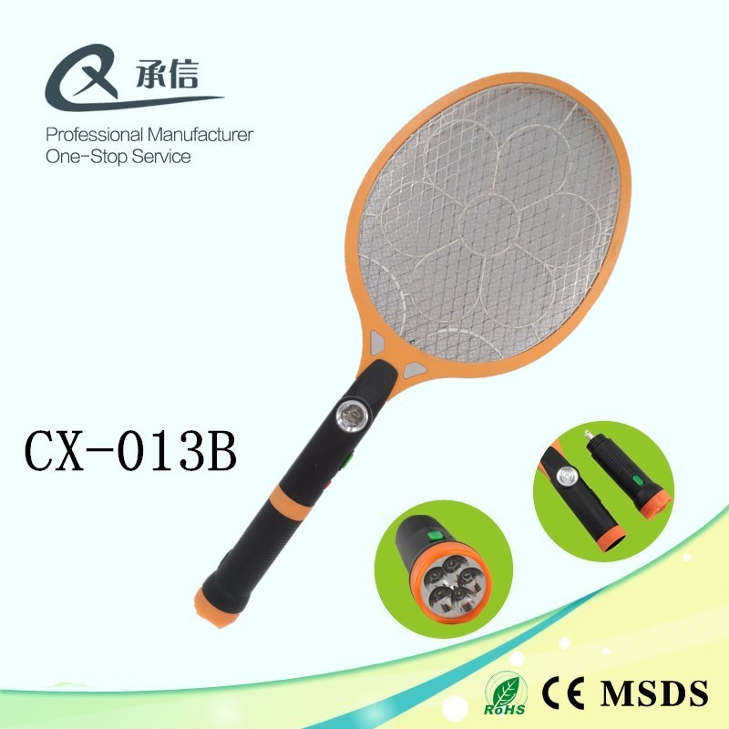 High Quality HIPS Electronic Mosquito Killer Bat with LED & Separable LED Torch