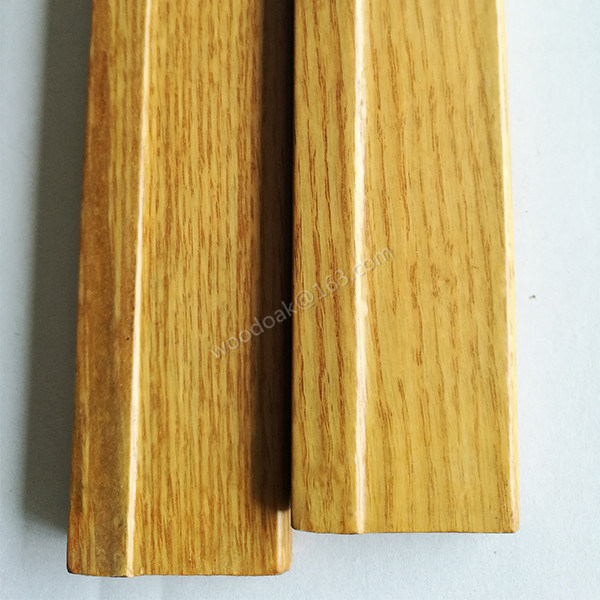 MDF Wrapped Oak Veneer Skirting Board