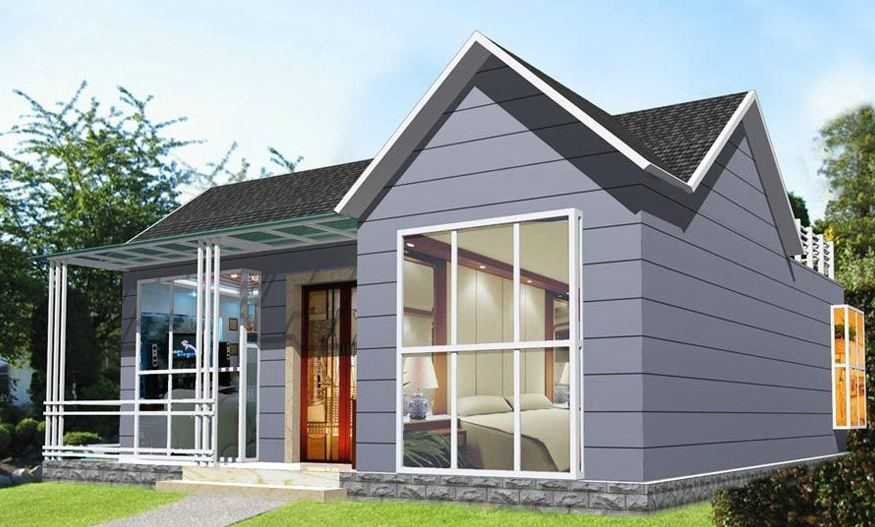High Economic Benefit Light Steel Prefab Villa House