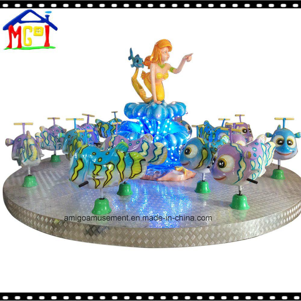 Beauty Fish Carousel Amusement Park Merry Go Round