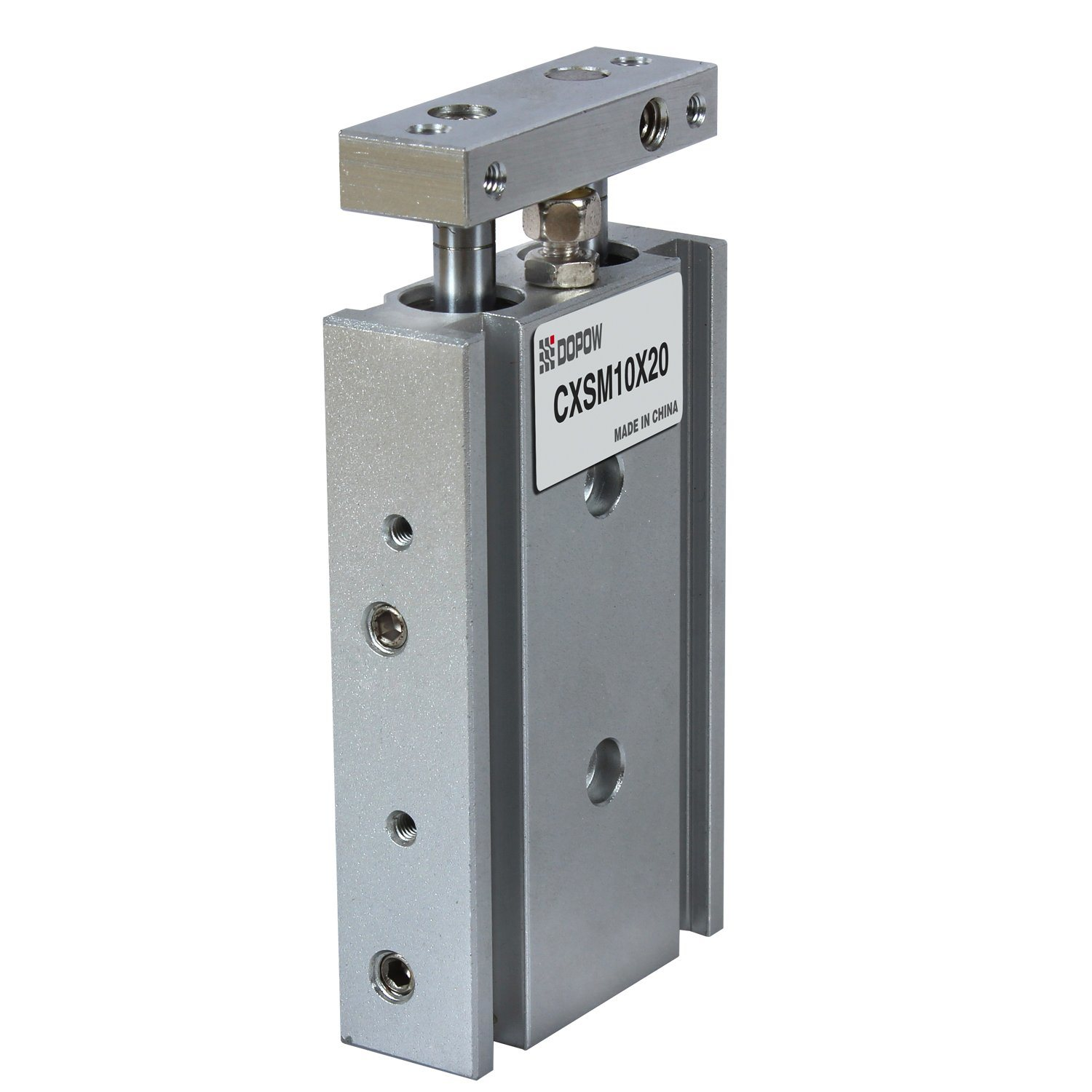Cxsm 10-20 Double Cylinder Pneumatic Slide Cylinder Compact Air Cylinder