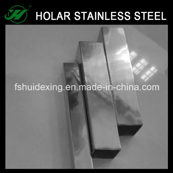 Rectangular Stainless Steel Pipe