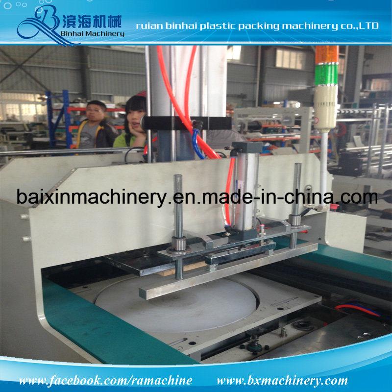 Automatic Handle Shopping Bags T-Shirt Bag Making Machine