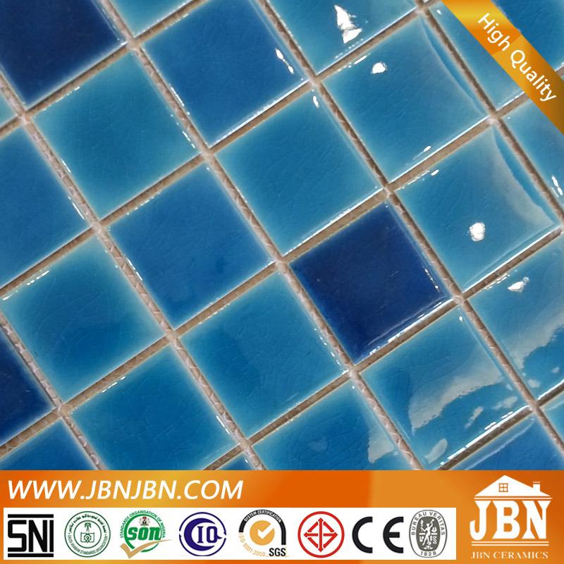 Blue Color Swimming Pool Porcelain Ceramicmosaic Tile (C648009)