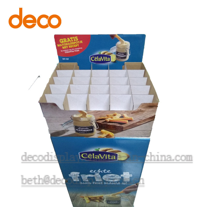 Cardboard Display Stand Paper Display Case Display Box