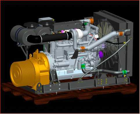 Diesel Engine + Pump Driver Power Assembly Package for Pump/Non Road Mobile Equipment/Construction Machinery