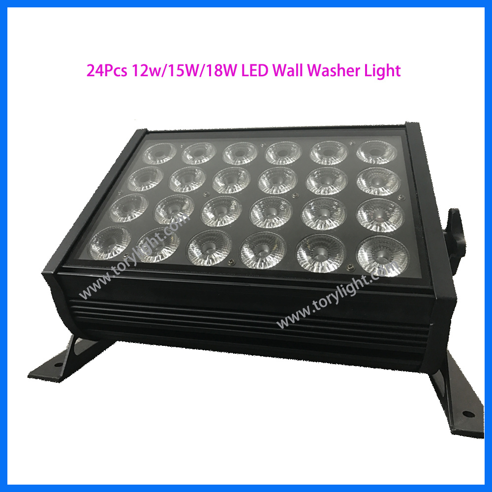 LED Stage Lighting DMX 512 PAR 24PCS*10W Washer Light