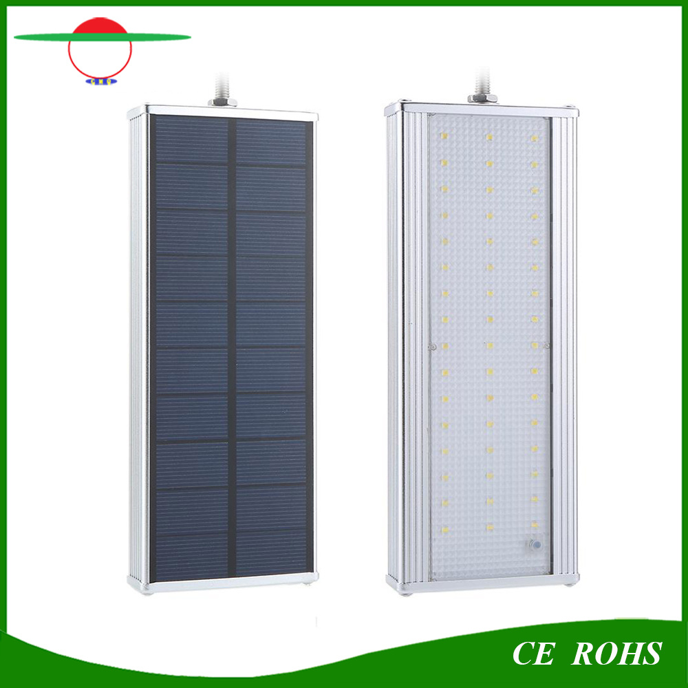 Solar Lights Radar Sensor Garden Light 48LED Aluminium Alloy IP65 Outdoor Solar Lamp High Brightness Flexible Street Light