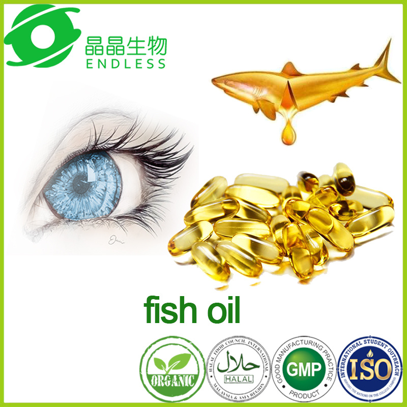 Health Care Products Benefit for Eyesight Deep Sea Fish Oil Soft Capsules