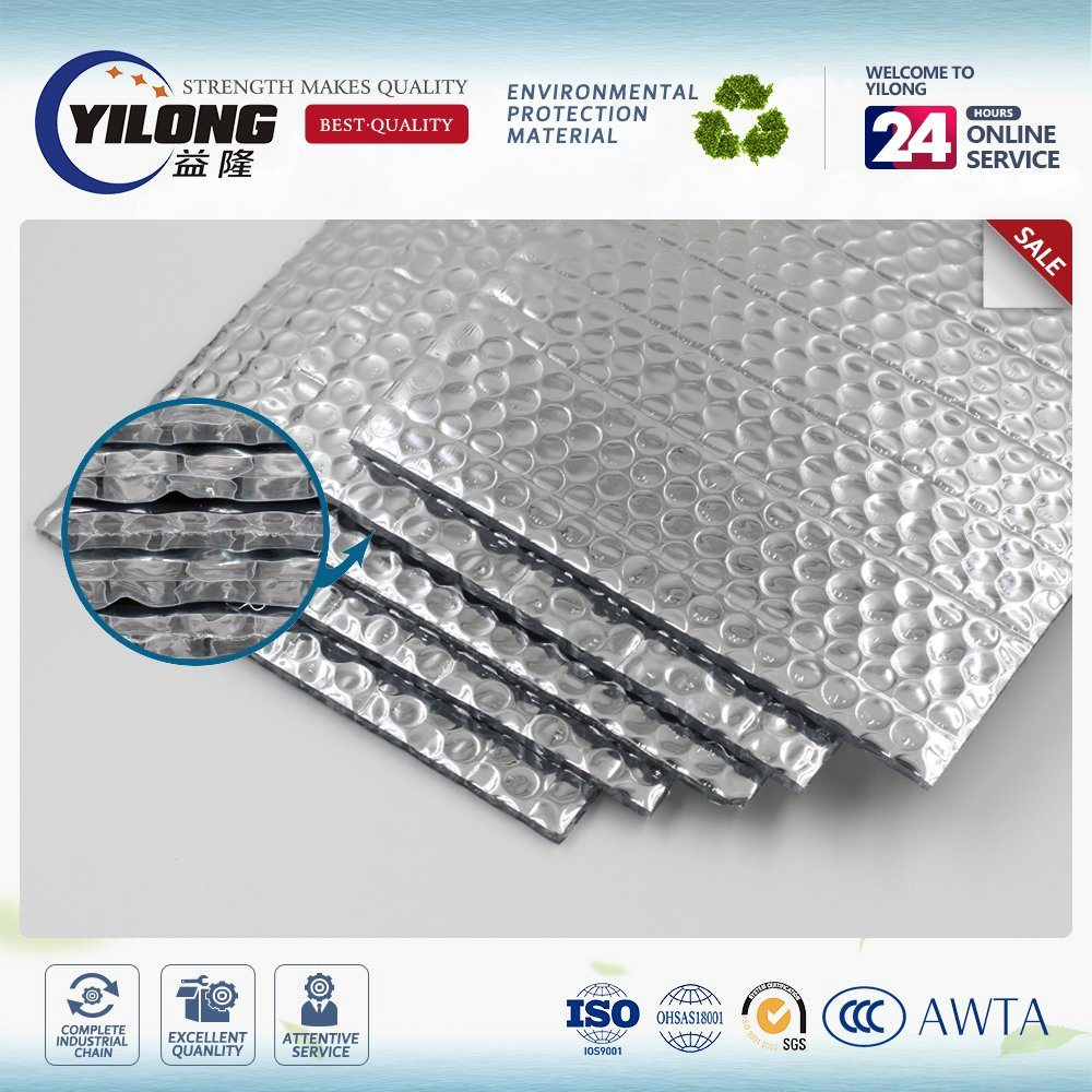 Foil Insulation, Single, Bubble-Foil, Reflective Control Membranes