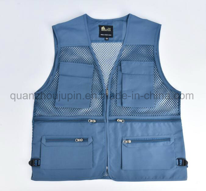 OEM Logo Cotton Photographer Hunting Shoot Fishing Vest