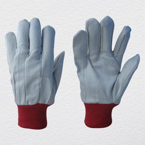 Polyester Drill Cotton Safety Gloves (2100)