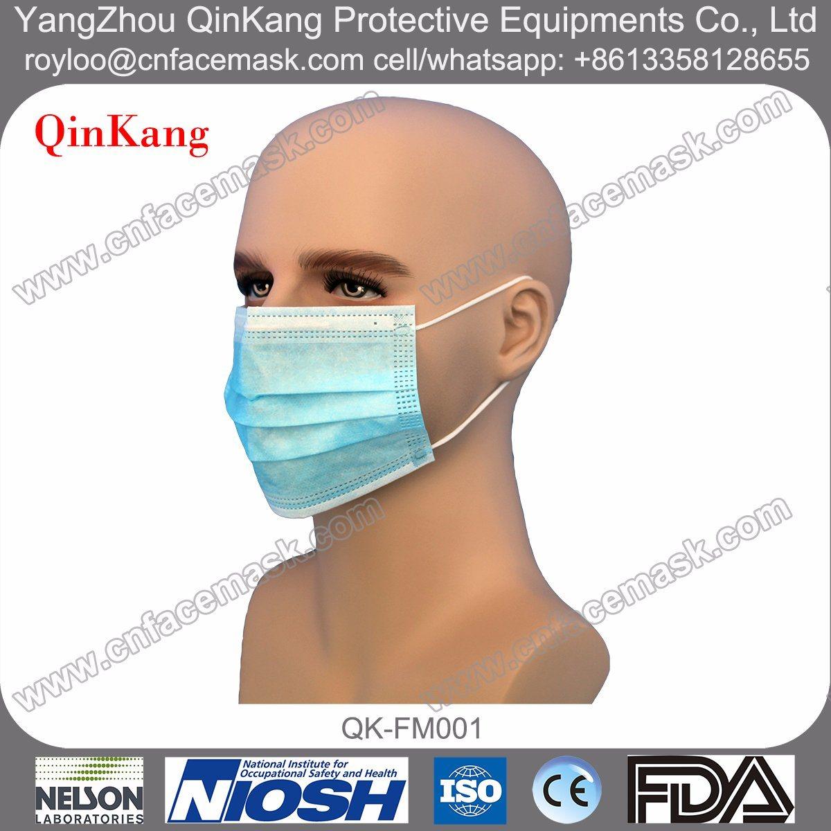 Disposable Non Woven Earloop Surgical Face Mask