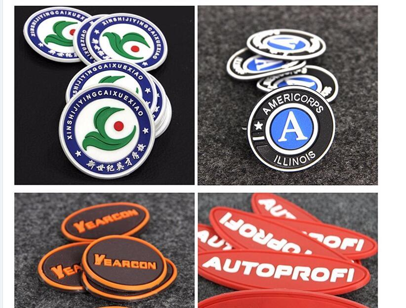 Rubber Patch-3D Rubber Label Wholesale Cheap Customized 3D Soft Plastic PVC Silicone Rubber Label