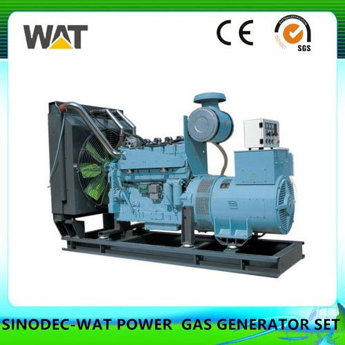 Water Cooler Natural Gas Generator Set 200kw (WT-200GFT)