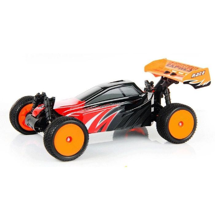 147735-1-10 Scale 2.4G Remote Control Car - Red