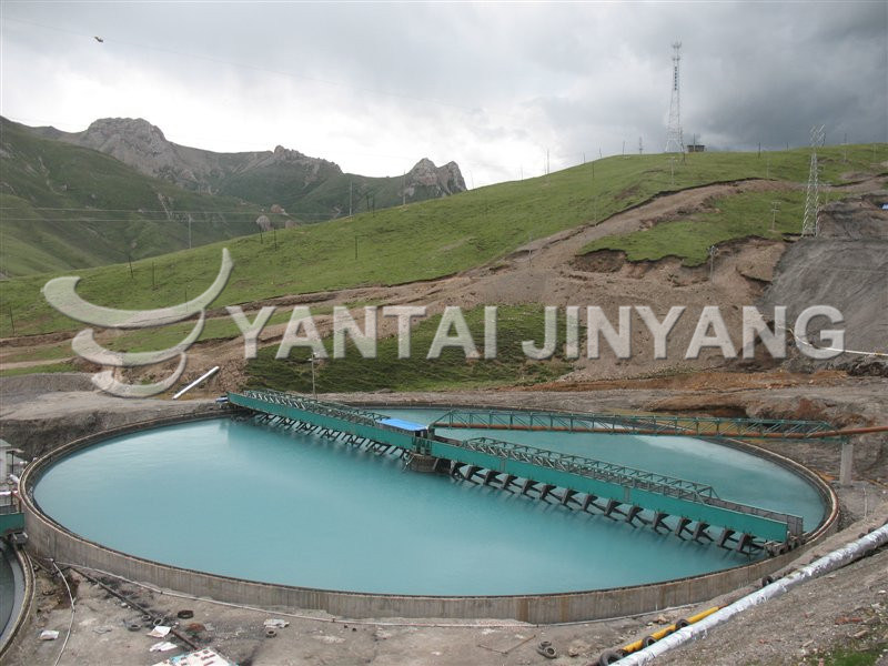 Tailings Recovery Process Efficient Sedimental Tank Thickener